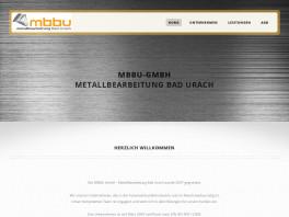 MBBU Metallbearbeitung Bad Urach GmbH Bad Urach