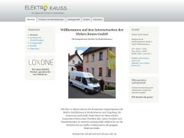 Elektro Kauß GmbH Niedernhausen, Taunus