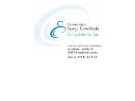 Praxis für ästhetische Zahnheilkunde Dr. med. dent. S. Gnielinski Remscheid