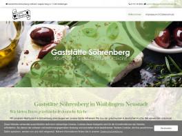 Gaststätte Söhrenberg Waiblingen, Rems