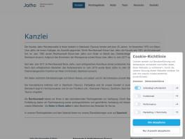Klaus-Uwe Jatho & Boris Jatho Rechtsanwälte und Notar    Klaus-Uwe Jatho Steinbach, Taunus
