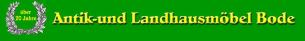 Firmenlogo: Antik- und Landhausmöbel Bode