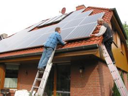 Montage einer 5,52kW- Photovoltaikanlage Hamburg Poppenbüttel