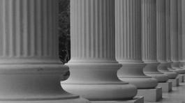 Säulen der Gesellschaft - Eine davon ist unser Grundrecht auf informationelle Selbstbestimmung.