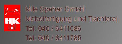 Bild zu SPEHAR GmbH - Tischlerei und Möbelfertigung in Hamburg
