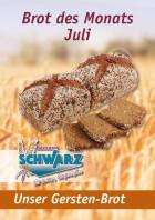 Brot des Monats Juli