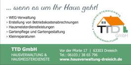 TTD GmbH Hausverwaltung & Hausmeisterdienste Dreieich