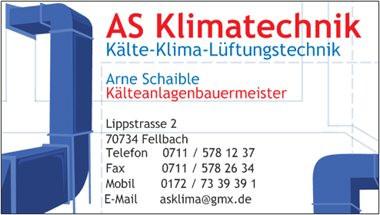 Bild zu AS Klimatechnik in Fellbach
