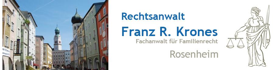 Bild zu Anwaltskanzlei Franz-Reinhard Krones in Rosenheim in Oberbayern