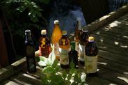 Verschiedene Öle, Obstessig, Balsamico