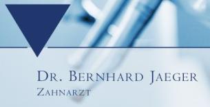 Firmenlogo: Zahnarztpraxis Dr.med.dent. Bernhard Jaeger