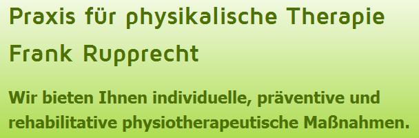 Bild zu Praxis für physikalische Therapie Frank Rupprecht in Garching bei München