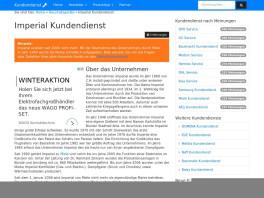 Wolfgang Knecht Imperial Hausgeräte Werkskundendienst Köln