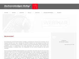 Sachverständigen-Kolleg - Aus- und Weiterbildung für Sachverständige Immobilienbewertungen - Inhaber Manfred Peschel Hamburg