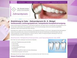 Zahnarzt und Oralchirurgie Dr. E.Weigel Calw