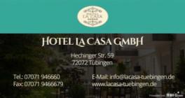 Hotel La Casa GmbH Tübingen