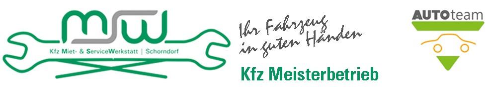 Logo AUTOteam MSW Schorndorf