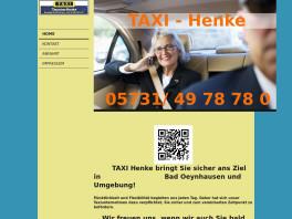 Henke TAXI Bad Oeynhausen