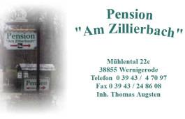 Pension am Zillierbach Wernigerode