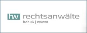 Firmenlogo: hw Rechtsanwälte Hobuß I Wowra Fachanwalt Familienrecht Berlin und Strafrecht Berlin
