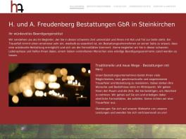 H. und A. Freudenberg Bestattungen GbR Steinkirchen, Kreis Stade