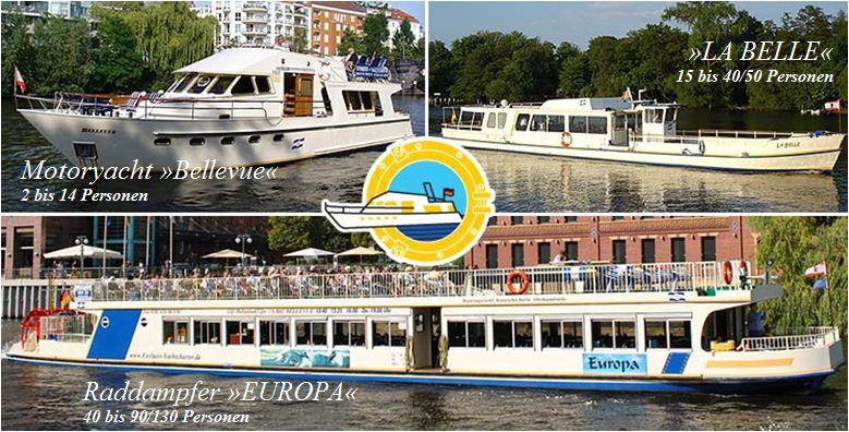 Bild zu Exclusiv Yachtcharter & Schifffahrtsgesellschaft mbH in Berlin