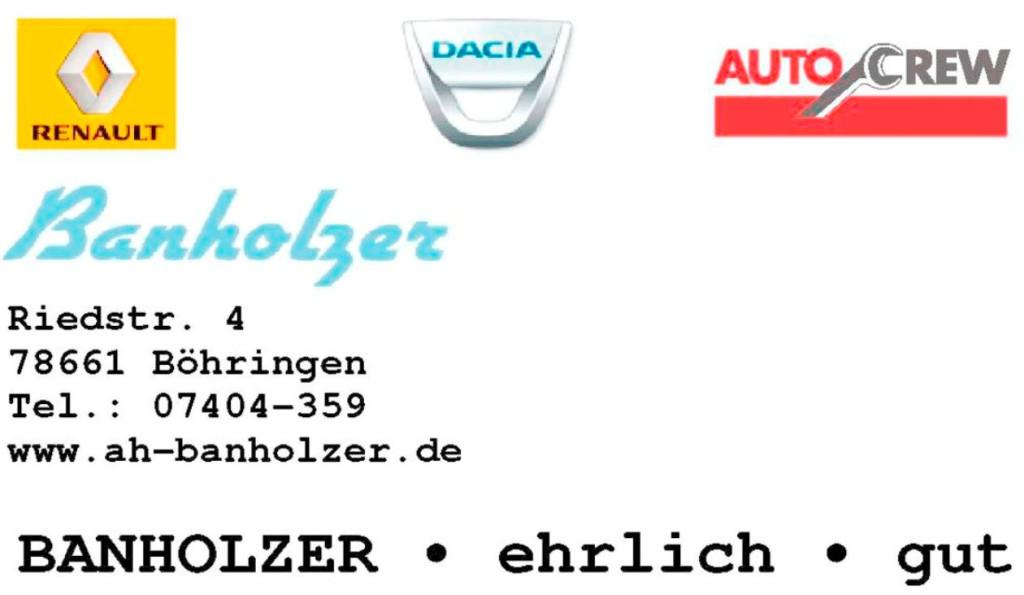 Bild zu Autohaus Banholzer – Renault, Dacia & Auto Crew Werkstatt und Mietwagen in Dietingen