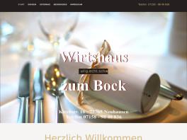 Gaststätte Bock, Volker Friedrich Neuhausen auf den Fildern