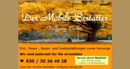 Der Mobile Bestatter Wolfgang Becker Berlin