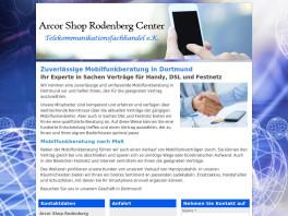 Arcor Shop Rodenberg Center Telekommunikationsfachhandel e.K. Dortmund