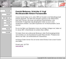 Anwaltskanzlei Behnsen, Schröder, Vogt -  Rechtsanwälte Notare Fachanwälte Bad Münder am Deister