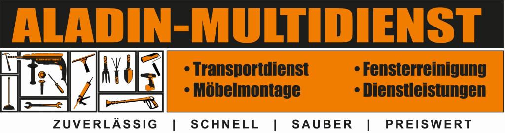 Logo von Aladin Multidienst - Ihr zurverlässiger Partner für Umzüge und Möbeltransporte in Achim bei Bremen