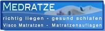 Firmenlogo: MEDRATZE - Matrazen und Matratzenauflagen Onlineshop