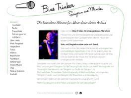 Sängerin Bine Trinker aus München Unterhaching