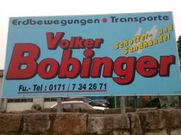 Volker Bobinger Erdbewegungen und Transporte Huisheim