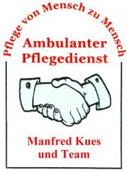Firmenlogo: Ambulanter Pflegedienst Manfred Kues