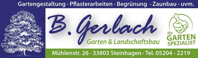 Bild zu Bernd Gerlach Garten- und Landschaftsbau in Steinhagen in Westfalen