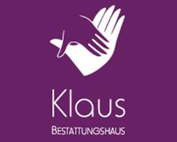 Firmenlogo: Bestattungen Klaus