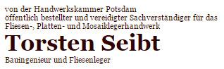Bild zu Sachverständiger Torsten Seibt in Potsdam
