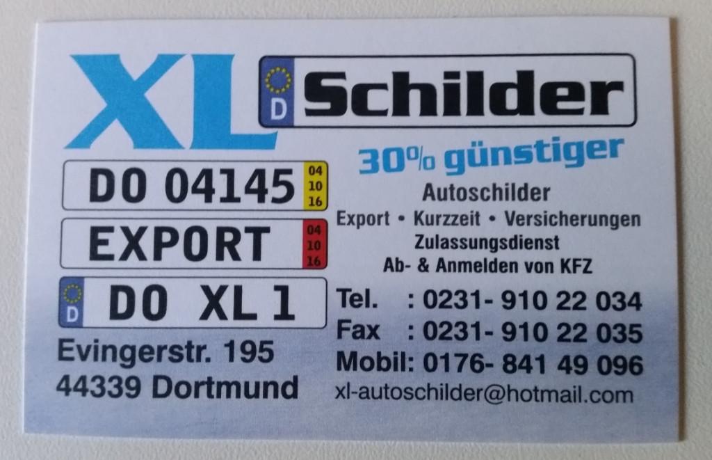 Bild zu XL-Schilder in Dortmund
