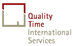 Firmenlogo: Quality Time International Services