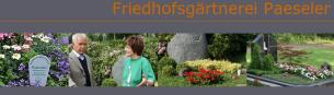 Firmenlogo: Friedhofsgärtnerei Paeseler