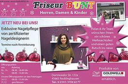 Friseur-Bunt