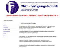 CNC-Fertigungstechnik Bensheim GmbH Bensheim