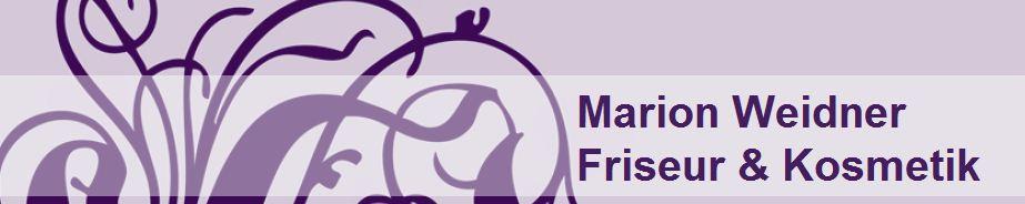 Logo von Marion Weidner, Friseur & Kosmetik