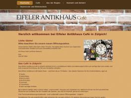 Eifeler Antikhaus Café Agi de Faber Zülpich