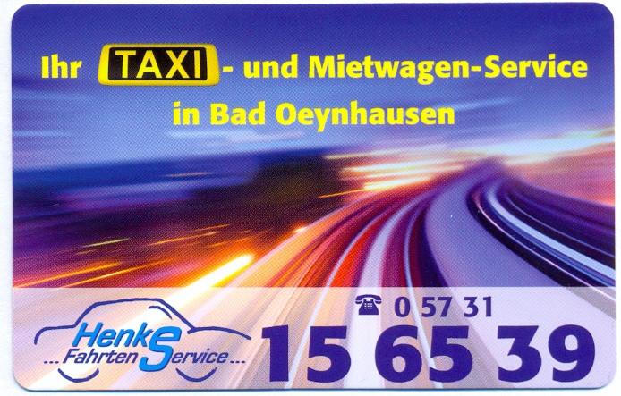 Logo von Henke Fahrtenservice Taxi- und Mietwagenbetrieb