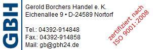 Bild zu GBH Gerold Borchers Handel e.K. in Nortorf bei Neumünster