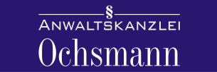 Firmenlogo: Anwaltskanzlei Ochsmann