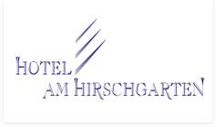 Firmenlogo: Hotel am Hirschgarten - Restaurant Hirsch